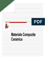 Materiale compozite ceramice