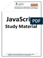 Full Stack Web Development with Python and DJango - Java Script.pdf