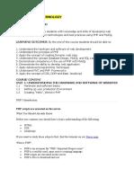 BSC webtech handout