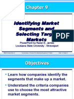 kotler09exs-Identifying Market Segments and Selecting Target Markets