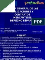 PPT Teoría general obligaciones y contratos mercantiles