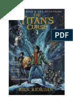 Percy Jackson 3 Graphic Novel