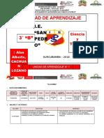 UNIDAD I CT - 3° B