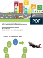 Integrated Transportation System Towards Sustainable Urban Transport UPDATE