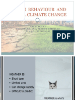HUMAN  BEHAVIOUR  AND GLOBAL CLIMATE CHANGE.pptx