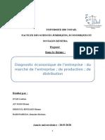 Diagnostic Economique de l'ESE