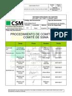 CSM-SSMA-PG-07 Procedimiento Comité-Sub SSMA v.3