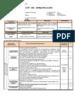 sesion de aprendizaje - REPRESENTACIONES CARTOGRÁFICAS.pdf