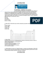 Química Geral - Atomística (30 questões)