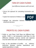 estimation of cash flows