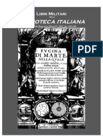 Military Books in Haym's 'Italian Library', IV 1803
