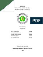 MAKALAH KEBIJAKAN OBAT NASIONAL KELOMPOK 7 (RIVALDO,SALSABILA,SANDRA,SHERIN,SITI)