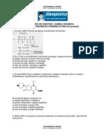 Química Orgânica - Funções Orgânicas e Nomenclatura (40 questões)
