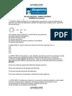 Química Orgânica - Isomeria (20 questões)
