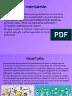 Innovación creatividad e idea de negocio
