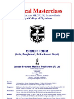 Jay Pee Order Form