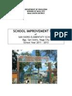 School Improvement Plan of San Isidro Elementary School Naga City 2011 2013