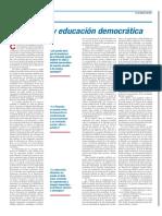Cifuentes - Filosofía y educación democrática (columna opinión)