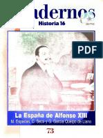 La España de Alfonso XIII. historia 16.