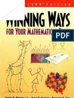 1_Winning Ways for Your Mathematical Plays V1