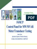 6A MW&MVAR transducer testing.pdf