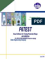 4.F6TesT Software Presentation-Aug2004