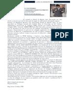 Eng. Lázaro Coutinhoo - Carta de Motivação - Engenheiro Mecânico Especialista em Soldagem  BRAMETAL
