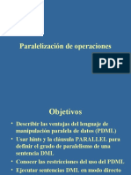 Paralelismo en Oracle