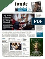 Le Monde 16 Janvier 2016