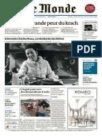 Le Monde 22 Janvier 2016