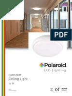 Polaroid-Leaflet - Ceiling Light - A4 Einzelseiten
