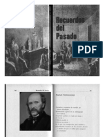 Recuerdos del Pasado XIX- Perez Rosales