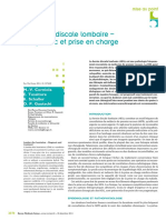 Diagnostic Hernie Discale Lombaire