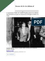 Allende y el fracaso de la vía chilena al socialismo