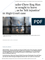 Ex-CHC leader Chew Eng Han admitted he sought to leave Singapore, as he 'felt injustice' in High Court case, Courts & Crime News & Top Stories - The Straits Times.pdf
