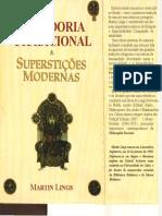 LINGS Martin Sabedoria Tradicional Supersticoes Modernas Polar 1998