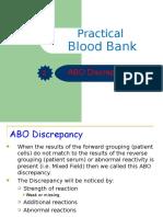 Practical ABO Groups Discrepancies.ppt