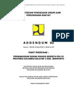 Addendum 02 Rumah Khusus beserta PSU di Provinsi Sulawesi Selatan 1 Kab. Jeneponto