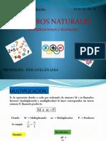 Números naturales - Multiplicación y División (1)