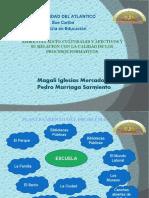 Ambientes Socio-culturales y Afectivos y Su Relacion Con La Calidad de Los Procesos Formativos