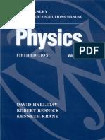 Physics Resnick, Halliday, Krane 5th Vol 1