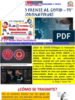 Coronavirus - DPCC 4° y 5° - I.E. 2024