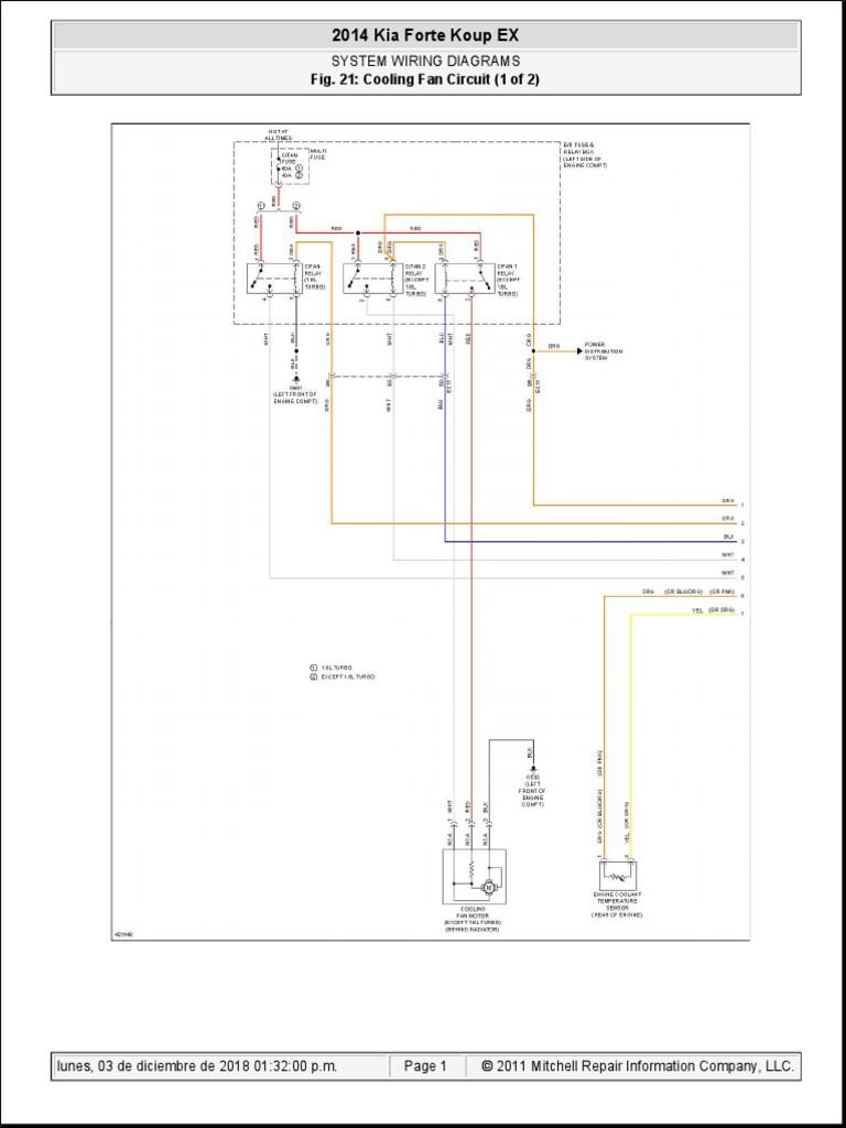 2014 Kia Forte Koup Ex 2014 Kia Forte Koup Ex System Wiring Diagrams System Wiring Diagrams