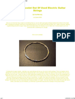 Making A Bracelet Out Of Used Electric Guitar Strings.pdf