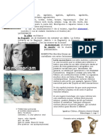 Etimología  y lat macarronico