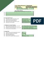 6.01 Control Plan Time Sheets