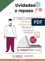 Espanol2SecundariaBloque-II