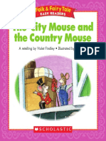 The CityMouse and The Country Mouse