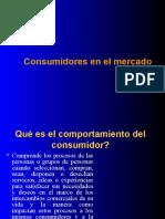 PRESENTACION LOS CONSUMIDORES EN EL MERCADO 2009