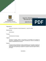 ADM-PD-33 Sop. y Mtto de RI V1
